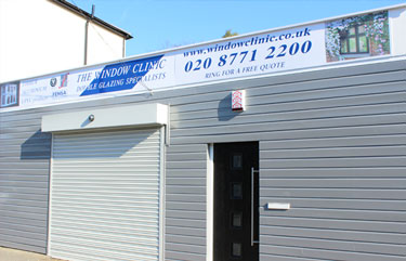 The Window Clinic premises in  South London