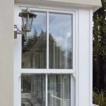 White Sash Windows