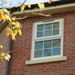 White Casement Window