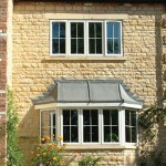 White Casement Bay Windows