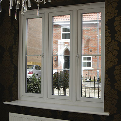 Casement Window Indoor