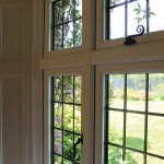 Monkey tail casement windows