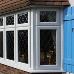 UPVC casement windows with timber boxes