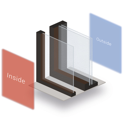 Secondary Glazing Diagram